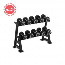Abilica DumbbellRack Maxi Set Rubber