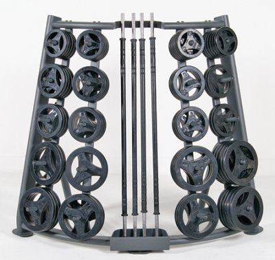 Body Pump rack